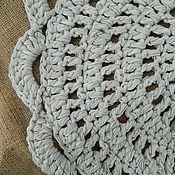 Для дома и интерьера ручной работы. Ярмарка Мастеров - ручная работа Текстильный коврик. Handmade.