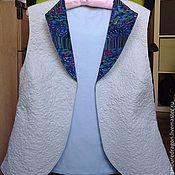Одежда ручной работы. Ярмарка Мастеров - ручная работа Жилет стеганый. Handmade.