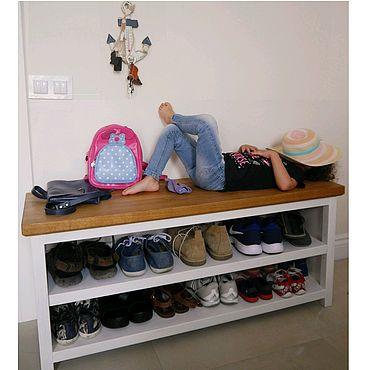 Обувница - многофункциональный стеллаж