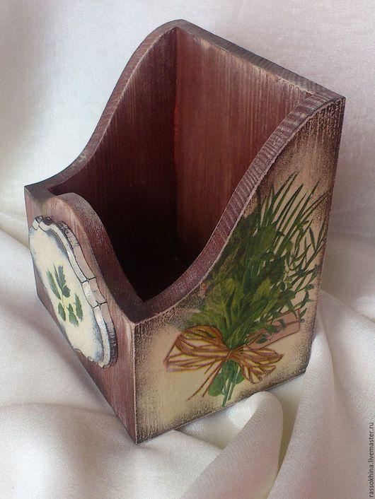 """Корзины, коробы ручной работы. Ярмарка Мастеров - ручная работа. Купить Короб для специй """"Травы"""". Handmade. Короб, винтаж"""