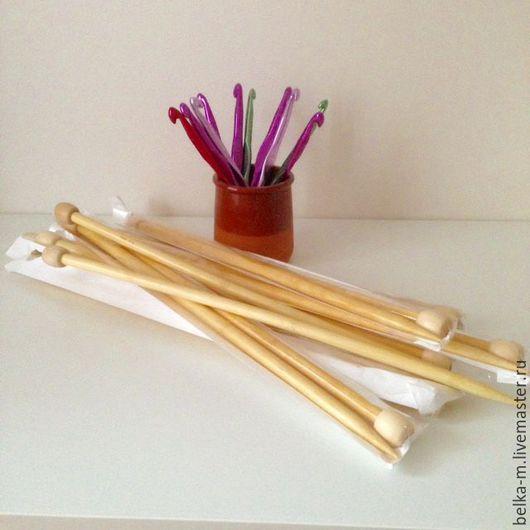 Вязание ручной работы. Ярмарка Мастеров - ручная работа. Купить Крючки, спицы для вязания. Handmade. Комбинированный, спицы для толстой пряжи