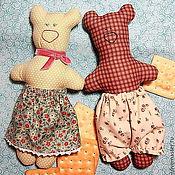 Куклы и игрушки ручной работы. Ярмарка Мастеров - ручная работа Пара Медведей. Handmade.