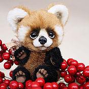 Куклы и игрушки ручной работы. Ярмарка Мастеров - ручная работа Красная панда Луи. Handmade.