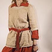Одежда ручной работы. Ярмарка Мастеров - ручная работа Туника  Флорентина. Handmade.
