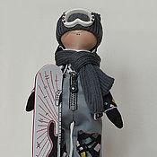 Куклы и игрушки ручной работы. Ярмарка Мастеров - ручная работа Сноубордист -гитарист. Handmade.