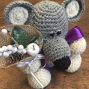 Мягкие игрушки ручной работы. Ярмарка Мастеров - ручная работа Мышка ручной работы. Handmade.