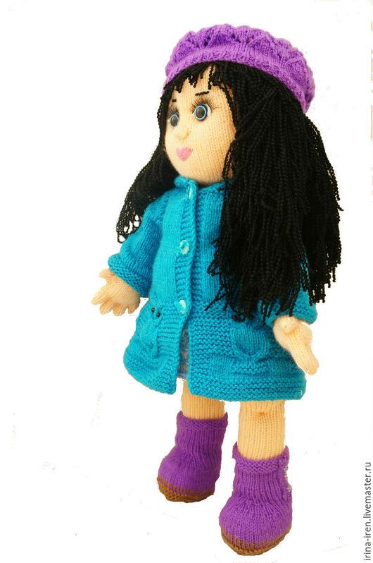 Человечки ручной работы. Ярмарка Мастеров - ручная работа. Купить Кукла Настенька.. Handmade. Комбинированный, кукла в подарок, холлофайбер