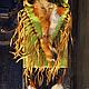 """Женские сумки ручной работы. Ярмарка Мастеров - ручная работа. Купить Кожаная бохо-сумочка """"Шорохи осени"""". Handmade. лиса"""