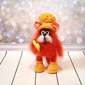 Куклы и игрушки handmade. Livemaster - original item red cat. Handmade.