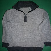 Одежда ручной работы. Ярмарка Мастеров - ручная работа Авторская работа. Пуловер для мальчика. Handmade.