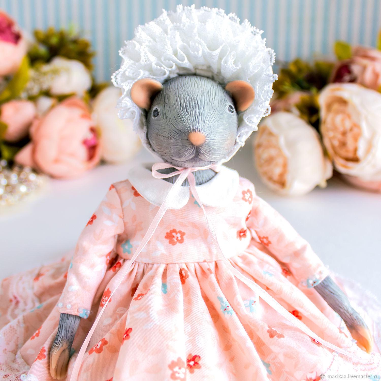 Эльза мышь, крыса,, символ года 2020, новогодний подарок 2020, Шарнирная кукла, Нижний Новгород,  Фото №1