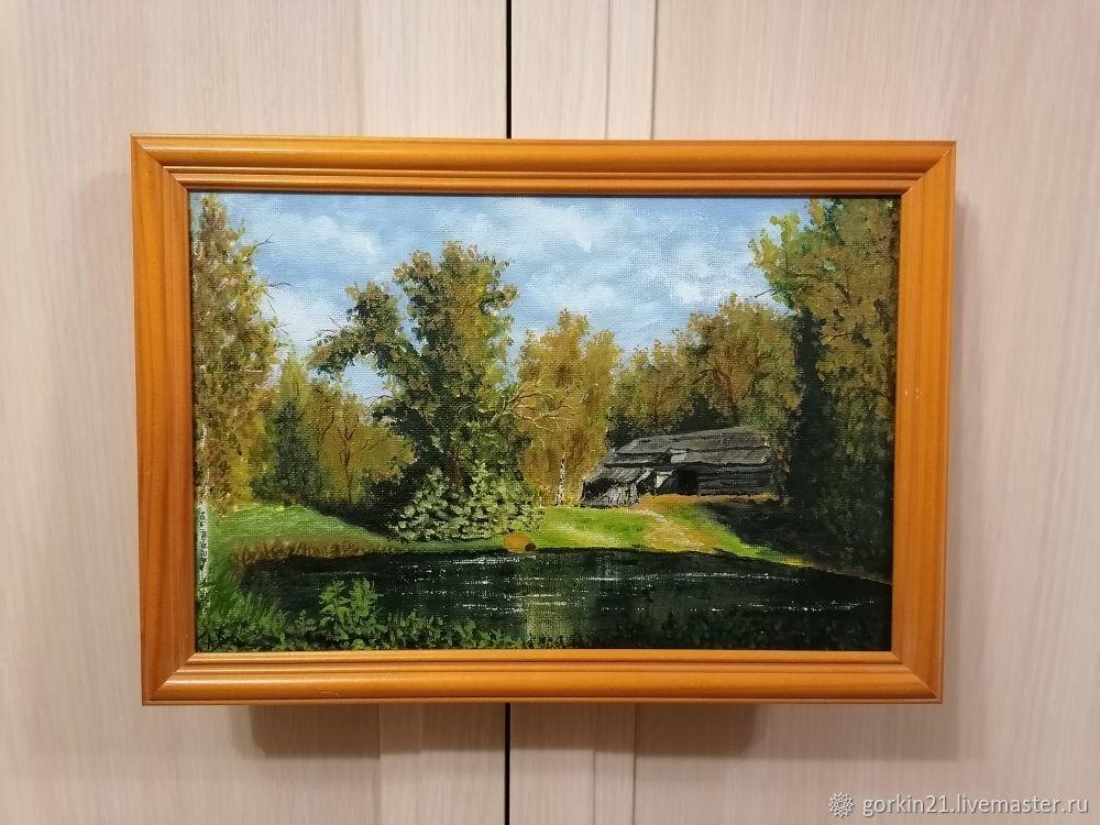 старый амбар, Картины, Железнодорожный,  Фото №1