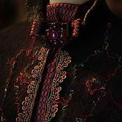 """Одежда ручной работы. Ярмарка Мастеров - ручная работа Жакет из шелка и шерсти """"На карнавал в Венецию!"""". Handmade."""
