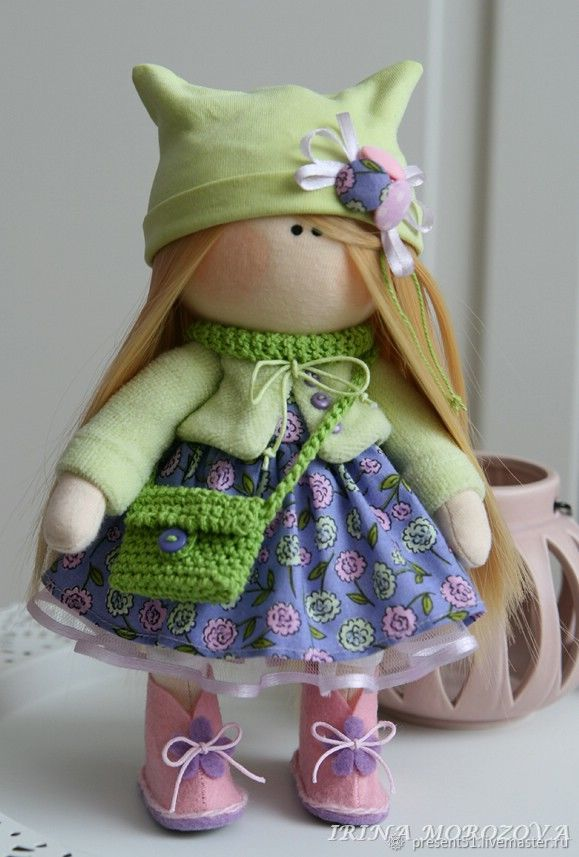 Интерьерная куколка, Тыквоголовка, Мурманск,  Фото №1