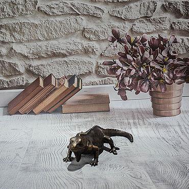 Для дома и интерьера ручной работы. Ярмарка Мастеров - ручная работа Статуэтка «Игуана». Handmade.