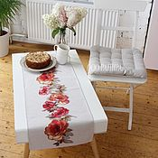 Для дома и интерьера handmade. Livemaster - original item Decorative napkins in assortment 40h100 cm tapestry. Handmade.