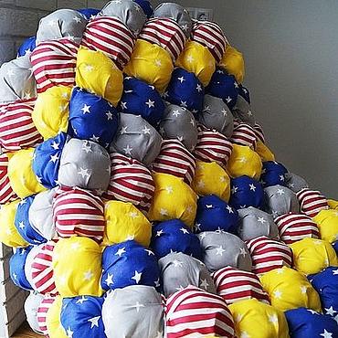 Для дома и интерьера ручной работы. Ярмарка Мастеров - ручная работа Коврик бомбон. Handmade.