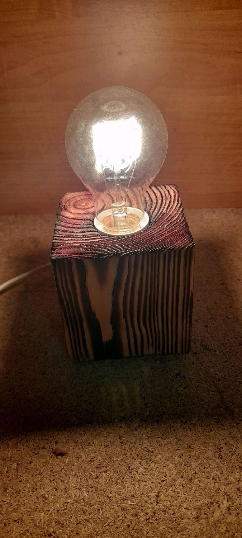 Светильник из дерева, Ночники, Благовещенск,  Фото №1