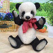 Куклы и игрушки ручной работы. Ярмарка Мастеров - ручная работа авторская коллекционная игрушка мишка-тедди Панда. Handmade.