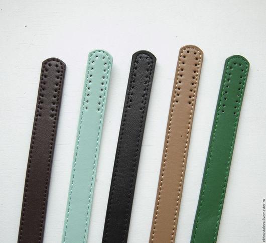 Другие виды рукоделия ручной работы. Ярмарка Мастеров - ручная работа. Купить Ручки пришивные, 62 см. Handmade. коричневый