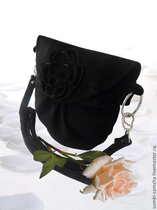 3fc3467040d2 Женские сумки ручной работы. Ярмарка мастеров - ручная работа. Купить Кожаная  сумка через плечо ...
