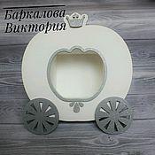 Для дома и интерьера ручной работы. Ярмарка Мастеров - ручная работа Полка для декора карета. Handmade.