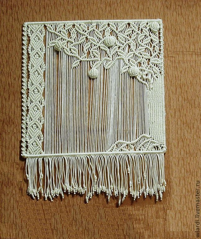 Техника плетения панно