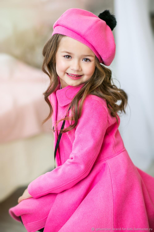 """Одежда для девочек, ручной работы. Ярмарка Мастеров - ручная работа. Купить Пальто для девочек """"Есения"""". Handmade. Пальто"""