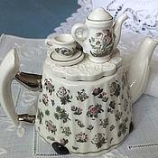 Винтаж ручной работы. Ярмарка Мастеров - ручная работа Винтажный английский коллекционный чайник. Handmade.