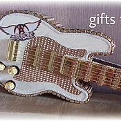 """Цветы и флористика ручной работы. Ярмарка Мастеров - ручная работа Гитара из конфет """" Aerosmith"""". Handmade."""