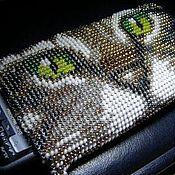 Сумки и аксессуары ручной работы. Ярмарка Мастеров - ручная работа бисерный чехол на телефон. Handmade.