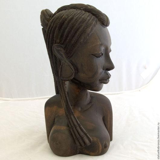 Винтажные предметы интерьера. Ярмарка Мастеров - ручная работа. Купить Африканская девушка. Handmade. Коричневый, африка, ню, эбен