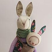 Куклы и игрушки ручной работы. Ярмарка Мастеров - ручная работа Carol. Текстильный кролик.. Handmade.