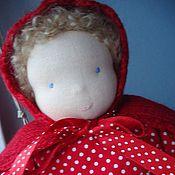 Куклы и игрушки ручной работы. Ярмарка Мастеров - ручная работа Куколка в чемоданчике. Handmade.
