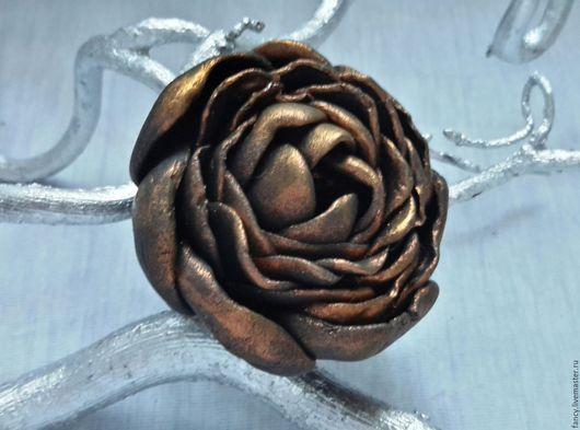 """Кольца ручной работы. Ярмарка Мастеров - ручная работа. Купить Кольцо """"Черный цветок"""". Handmade. Черный, подарок на любой случай"""