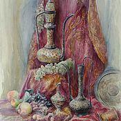 Картины ручной работы. Ярмарка Мастеров - ручная работа Восточный натюрморт. Handmade.