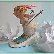 Куклы и игрушки handmade. Livemaster - original item winter angel. Handmade.