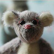 Куклы и игрушки ручной работы. Ярмарка Мастеров - ручная работа мини мишка Фанни. Handmade.