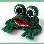 Куклы и игрушки ручной работы. Ярмарка Мастеров - ручная работа Лягушка. Handmade.