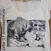 Одежда ручной работы. Ярмарка Мастеров - ручная работа Маша и медведь.. Handmade.