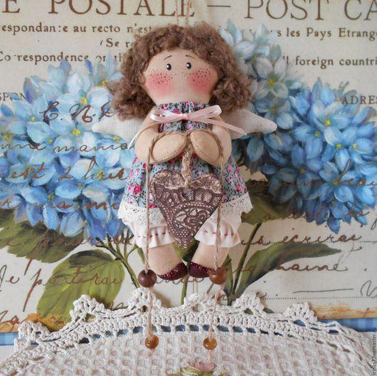 Ароматизированные куклы ручной работы. Ярмарка Мастеров - ручная работа. Купить Ангелок-ребенок. Хранитель дома (в голубом). Handmade.
