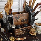 Полки ручной работы. Ярмарка Мастеров - ручная работа Полочка для кухни кантри. Handmade.