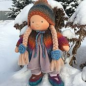 Куклы и игрушки handmade. Livemaster - original item Mariska is a Waldorf doll. Handmade.
