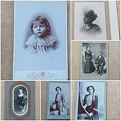 Винтаж handmade. Livemaster - original item Collectors: vintage photo end19 / early 20th century. Handmade.