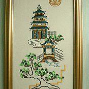 """Картины и панно ручной работы. Ярмарка Мастеров - ручная работа Картина """"Япония"""". Handmade."""
