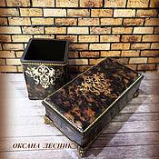 handmade. Livemaster - original item Box, box (Cabinet set). Handmade.