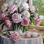 Картины и панно ручной работы. Ярмарка Мастеров - ручная работа Зефир бело-розовый. Handmade.