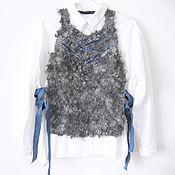 Одежда ручной работы. Ярмарка Мастеров - ручная работа Жилет валяный НЕбедная овечка. Handmade.