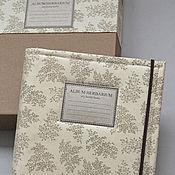 Канцелярские товары handmade. Livemaster - original item Album for a herbarium Thin herb (A4, 30 plants). Handmade.