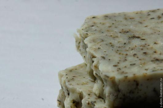 Мыло ручной работы. Ярмарка Мастеров - ручная работа. Купить Эвкалиптовое натуральное мыло. Handmade. Тёмно-зелёный, мыло в подарок